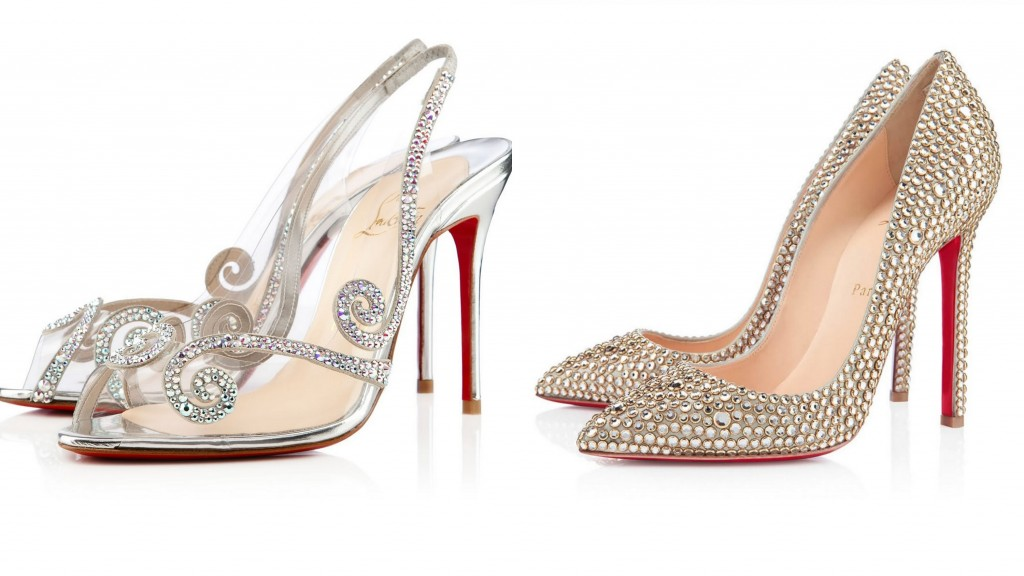 christian louboutin wedding shoes price