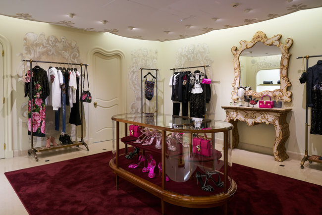 Dolce & Gabbana - new boutique in Paris - Carnet Chic